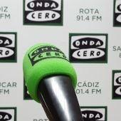 Micrófono Onda Cero Cádiz