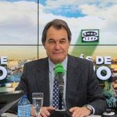 Artur Mas en Onda Cero