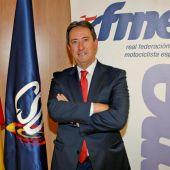 El nuevo presidente de la Real Federación Motociclista Española, Manuel Casado