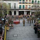 La Plaza Mayor ha acogido los actos centrales de Santa Bárbara