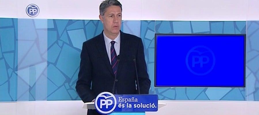 """Albiol compara al Govern con la """"Gestapo"""" y sopesa denunciar a Puigdemont"""