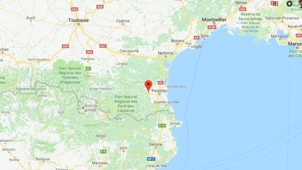 Millas, localidad francesa donde ha ocurrido el siniestro
