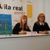 La tinent d´alcalde Silvia Gómez i la presidenta de la coral sant Jaume Amparo Peña han presentat les novetats del Vé festival coral Ciutat de Vila-real.