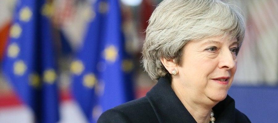 La primera ministra británica, Theresa May, a su llegada al Consejo Europeo en Bruselas (Bélgica) el pasado jueves, 14 de diciembre