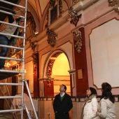 El alcalde de Onda ha visitado las obras de restauración