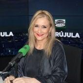 Cristina Cifuentes, Presidenta de la Comunidad de Madrid, en Onda Cero