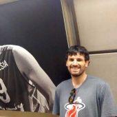 Asier de la Iglesia, jugador de baloncesto