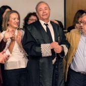 El juez José Castro, en su último día de trabajo