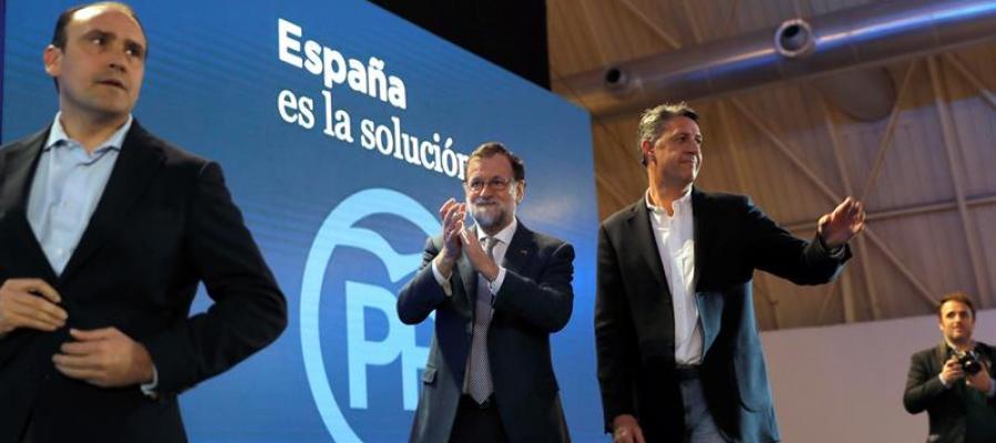 Rajoy cierra la campaña pidiendo el voto para