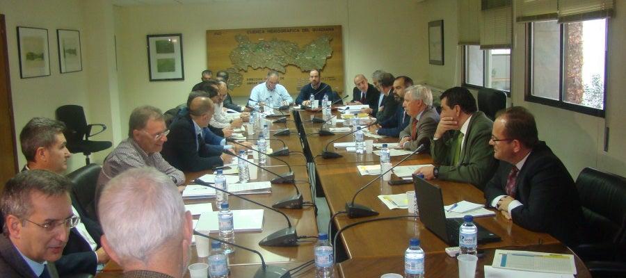 Reunión de la Junta de Gobierno de la CHG