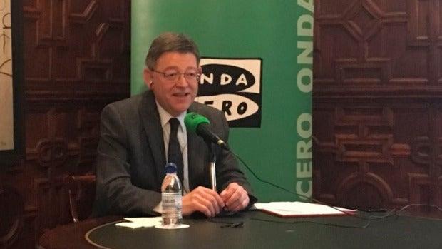 Ximo Puig, president de la Comunidad Valenciana
