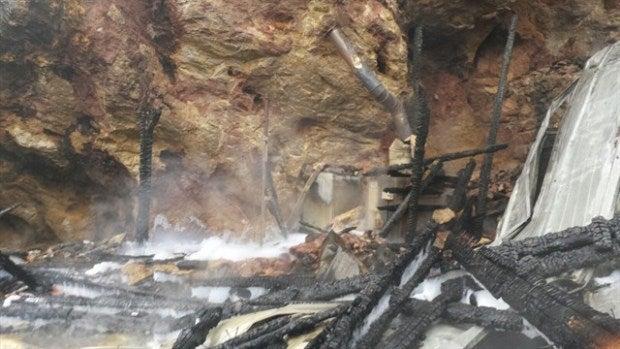 Comienza la investigación sobre las causas del incendio que mató a tres jirafas en Cabárceno