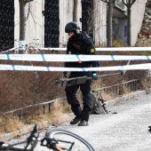 La policía ha acordonado la zona de la explosión a las afueras de Estocolmo