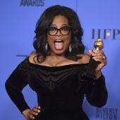 Oprah Winfrey con su premio