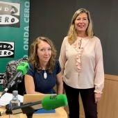 La consellera balear de Salud, Patricia Gómez, pasa por el programa MALLORCA EN LA ONDA de Onda Cero en enero de 2018.