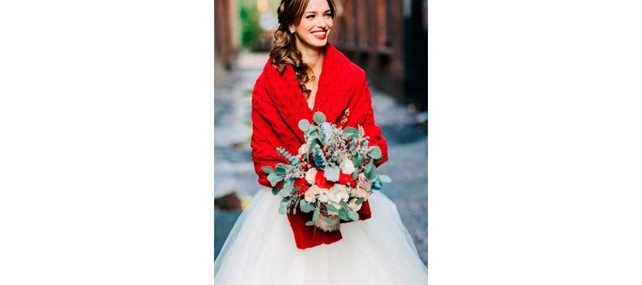 Ramos de novia invernales