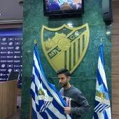 Alberto Bueno, nuevo jugador del Málaga CF