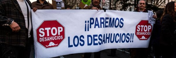 PSOE, PP y Ciudadanos acuerdan que el proceso de desahucio se inicie a partir de las 12 cuotas impagadas