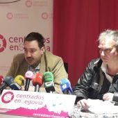 Rueda de prensa de Centrados en Segovia para valorar la decisión judicial sobre Caja Segovia