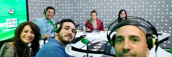 Tabla redonda: Jaime Cantizano, Mar de Tejeda, Laura Sánchez, Eva García, Andrés Moraleda y Jaime Novo