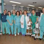 Equipo de anestesistas del Hospital La Plana de Vila-real.