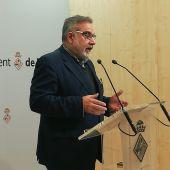 El portavoz de Ciudadanos en el Ayuntamiento de Palma, Pep Lluís Bauzá
