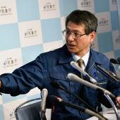 El director de la División de Vulcanología de la Agencia Meteorológica de Japón, Makoto Saito