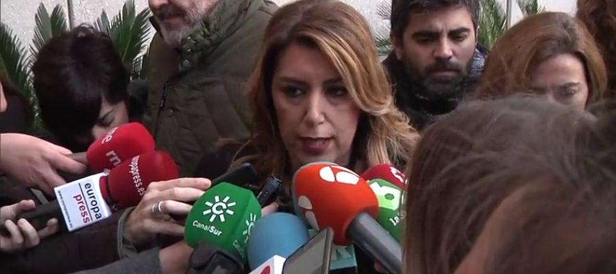 La presidenta andaluza, Susana Díaz