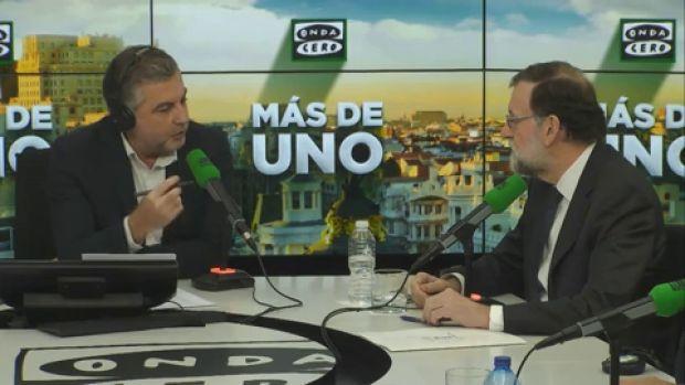 """Mariano Rajoy: """"Puigdemont ya sabe cuales son las reglas del juego y la primera es que cuando no se respeta la ley hay consecuencias"""""""