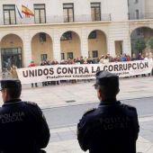 Alicantinos contra la corrupción política