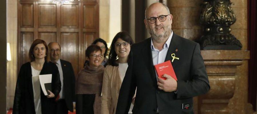 El diputado de JxCAT, Eduard Pujol