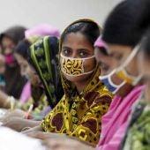 Trabajadoras del textil en Bangladesh