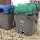 Contenedores de residuos accesibles