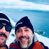 Javier y Carlos Bardem en la Antártida