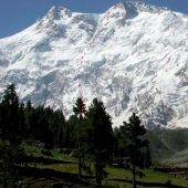 El Nanga Parbat, en Pakistán