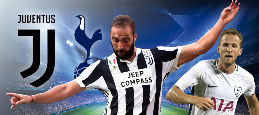 Juventus - Tottenham, partido de la ida de octavos de la Champions