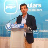 El presidente del Partido Popular de Baleares, Biel Company.