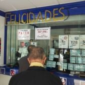 Administración de Lotería que ha dado el premio de la Bonoloto en Elche