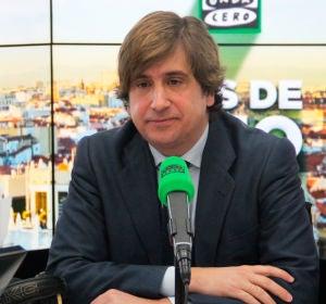 José Ramón Iturriaga en los estudios de Onda Cero