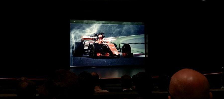 Presentación del McLaren