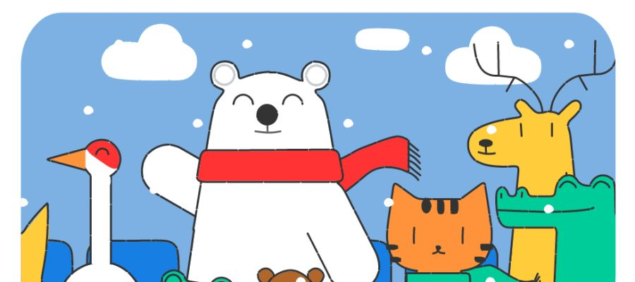 El Doodle de Google con motivo de los Juegos de Invierno