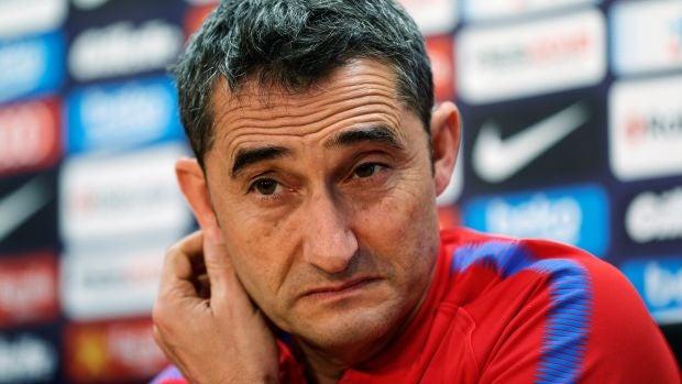 Valverde, en rueda de prensa