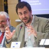El exconsejero de Salud de la Generalitat, Antoni Comín