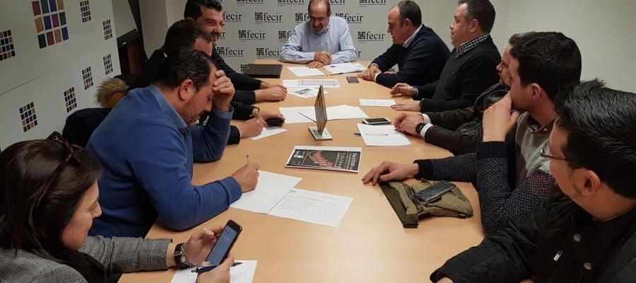 Reunión del comité organizador de FECIRAUTO