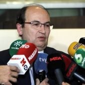 Pepe Castro, en la seda de la RFEF en Las Rozas