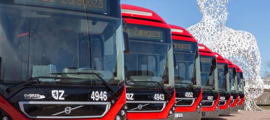 Nuevos autobuses híbridos