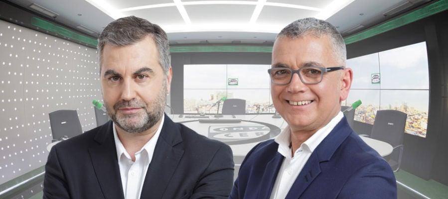 Carlos Alsina y Juan Ramón Lucas celebran este martes en Más de uno el Día Mundial de la Radio
