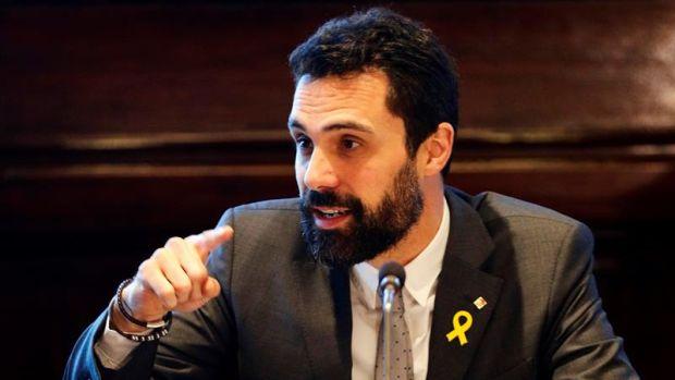 """Torrent asegura que no dejará de denunciar la situación de los diputados """"presos y exiliados"""""""