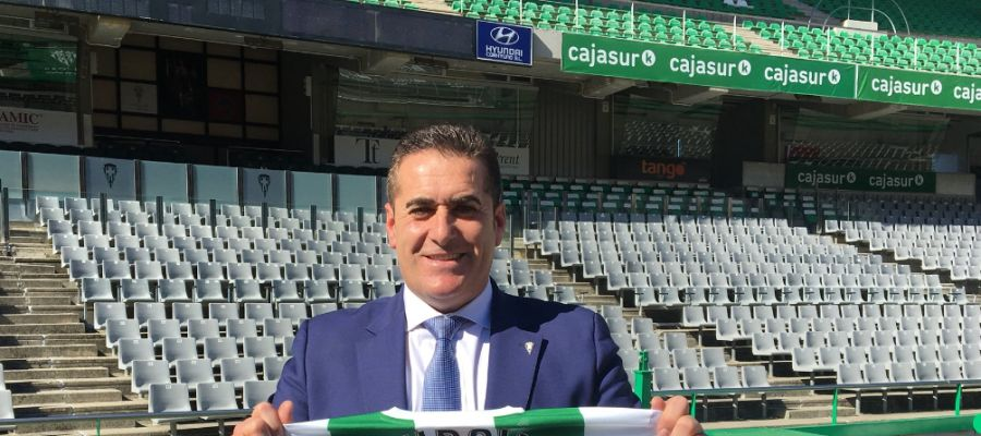 El entrenador del Córdoba CF, José Ramón Sandoval.
