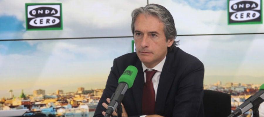 el Ministro de Fomento, Íñigo de la Serna, en Onda Cero
